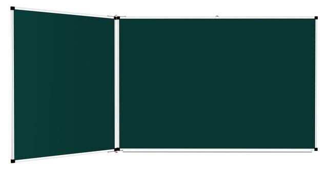 Доски 3-поверхностные: меловые, маркерные, комбинированные