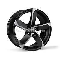 Литые диски Fondmetal 7900 R17 W7.5 PCD5x105 ET42 DIA56.6 (black polished)