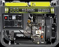 Дизельный генератор Könner &Söhnen Basic KSB 6000D, фото 1
