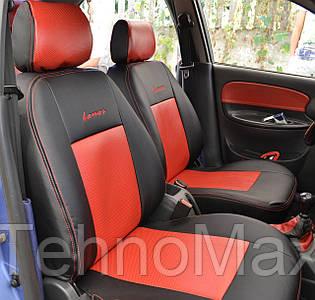 Модельные чехлы Standart кожаные на передние и задние сиденья автомобиля Chevrolet LACETTI 2003 - 2013