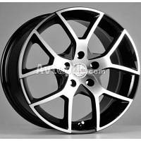 Литые диски Racing Wheels H-466 R14 W6 PCD4x100 ET35 DIA67.1 (DB-FP)