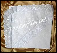 Крыжма уголок бязь с кружевом Textile plus (kod 4336)