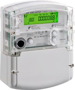 Лічильник НІК 2301 АТ1 В 5(10)А,127В 3ф, електромеханічний однотарифний