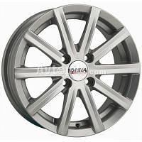 Литые диски Disla 405 R14 W6 PCD5x100 ET37 DIA57.1 (silver)