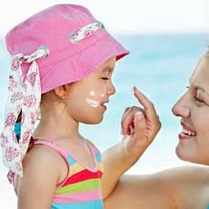 Детская солнцезащитная косметика