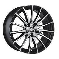 Литые диски Fondmetal 7800 R17 W7 PCD5x100 ET35 DIA57.1 (black polished)