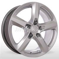 Литые диски Storm YQR-273 R16 W6.5 PCD5x110 ET38 DIA65.1 (silver)