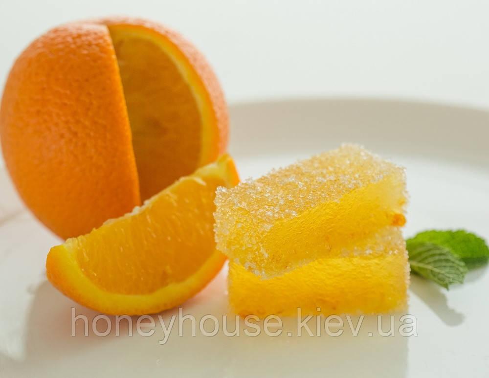 Натуральный фруктовый мармелад Цитрусовый с апельсином ТМ Солодка Мрия
