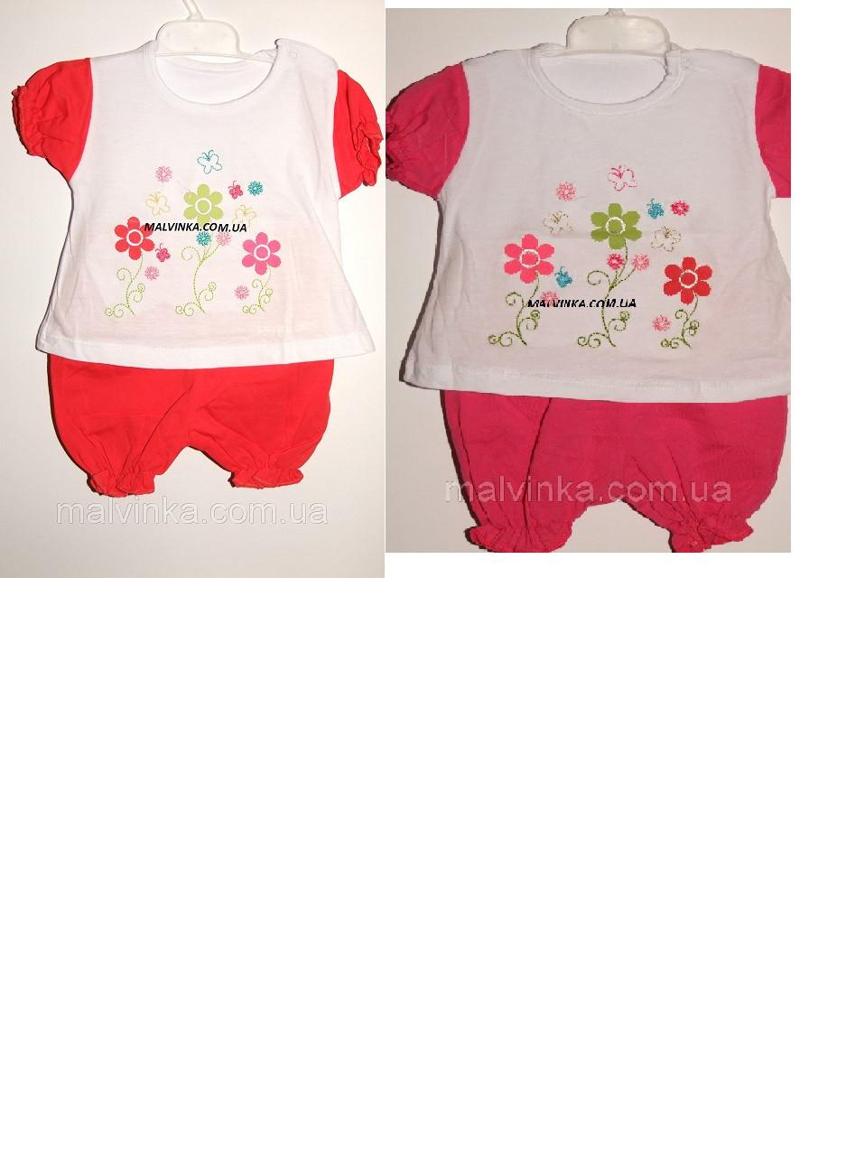 Комплект на дівчинку 6,12,18 міс арт 75453 Туреччина рожевий,кораловий.