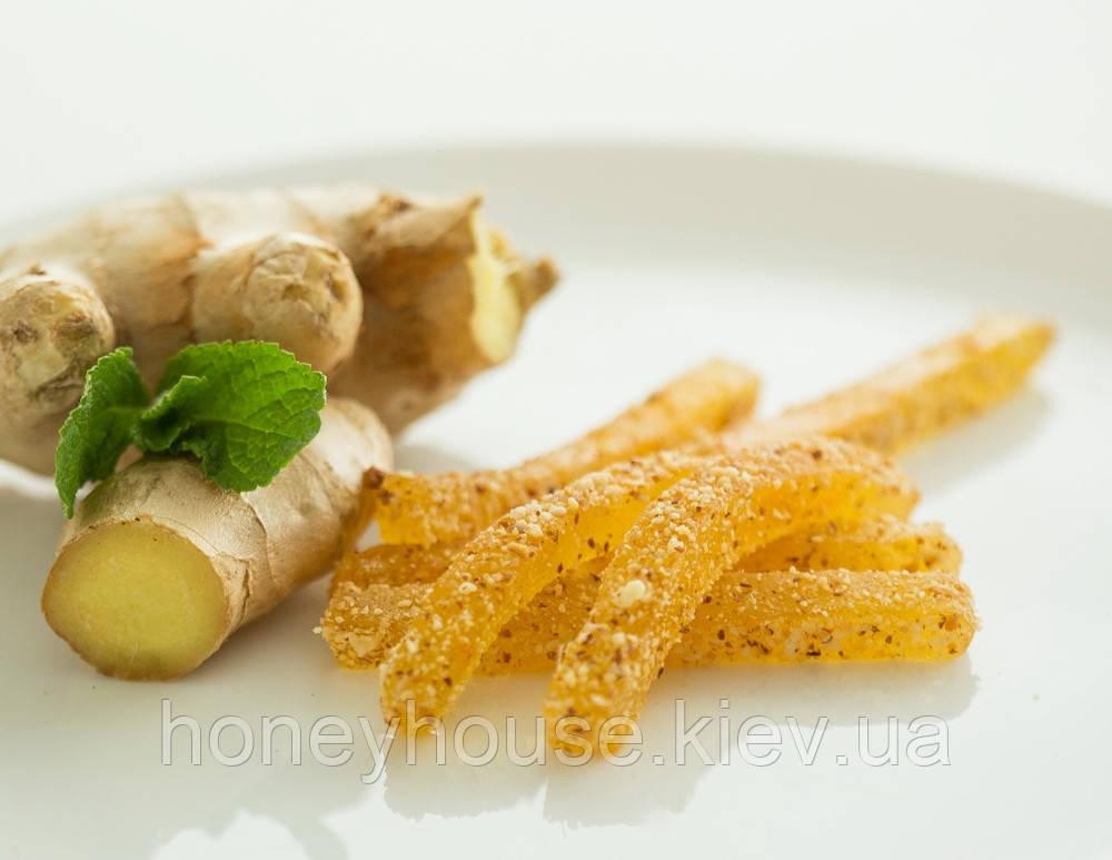 Натуральный фруктовый мармелад Имбирный ТМ Солодка Мрия
