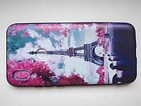 Чехол силиконовый с рисунком для Xiaomi Redmi 7