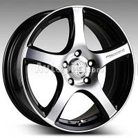 Литые диски Racing Wheels H-531 R16 W7 PCD5x100 ET40 DIA67.1 (BK-F/P)