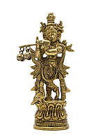 "Кришна бронза (10,5х4х3 см)(krishna fine 5"")"