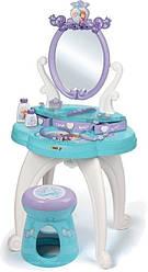Туалетный столик с зеркалом и стульчиком Frozen Smoby 3+ (320224)