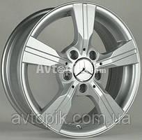 Литые диски Bison BN-361 R15 W6 PCD5x112 ET46 DIA66.6 (silver)
