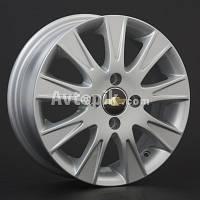 Литые диски Replica Chevrolet (GM12) R15 W6 PCD4x100 ET44 DIA56.6 (silver)