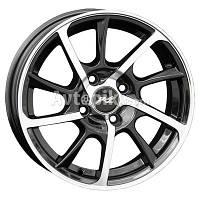 Литые диски RS Wheels 163 R15 W6.5 PCD4x98 ET35 DIA58.6 (MG)