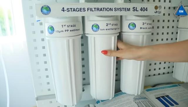 Проточный фильтр BIO+Systems SL404 фильтры