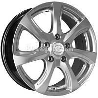 Литые диски Replica Mazda (629) R16 W6.5 PCD5x114.3 ET50 DIA67.1 (HS)