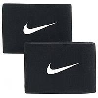 Тейпы, держатели  фиксаторы для щитков черные Найк Nike реплика