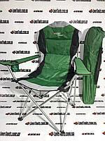 Кресло складное с подлокотниками и подстаканником, 60 х 60 х 110/92 см, Camping Palisad