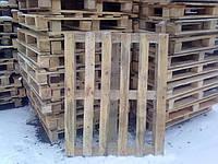 Поддон деревянный б\у 1200*1000 3 сорт