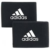 Держатели (Тейпы) для щитков черные Адидас Adidas реплика