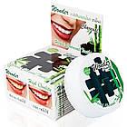 Круглая Зубная паста с углем бамбука (Wonder charcoal toothpaste, Siam Nature), 25 грамм, фото 2