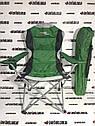 Кресло складное с подлокотниками и подстаканником, 60 х 60 х 110/92 см, Camping Palisad, фото 2