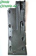 Правая защита днища кузова Шкода Октавия А5 Skoda Octavia А5  Гольф Джетта Леон  1k0825202bf SkodaMag