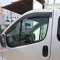 Дефлекторы окон (ветровики) клеющие / накладные Д/о Opel Vivaro /Renault Trafic 2001-> 2шт (ANV-AIR)