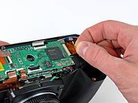 Ремонт замена шлейфа кнопки включения на фотоаппарате Olympus Casio Fujitsu Panasonic