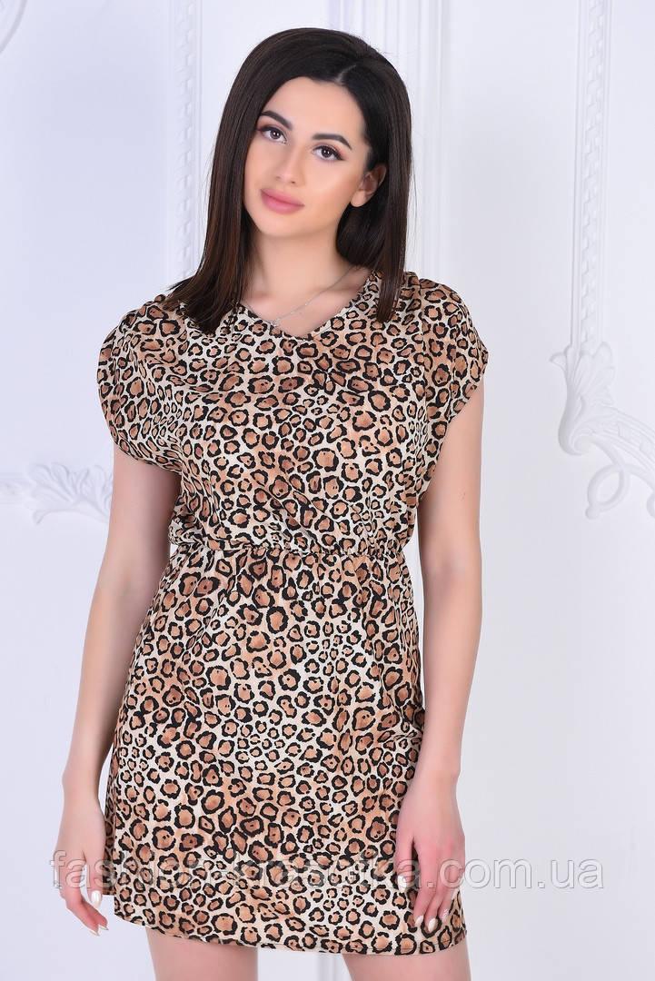 Модное легкое летнее платье,ткань:летний софт-принт,размеры:44,46,48,50.