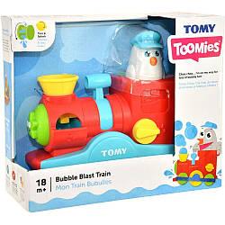 Веселий паровозик з мильними бульбашками Tomy E72549