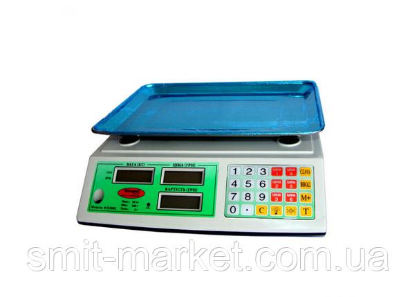 Весы торговые WIMPEX 5002 WX, фото 2