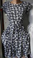 Модное  женское летнее платье,ткань полированный штапель,размеры:44,46,48,50., фото 1