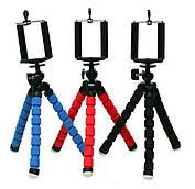 Универсальный гибкий штатив осьминог для мобильного телефона с держателем, тринога, трипопод,монопод