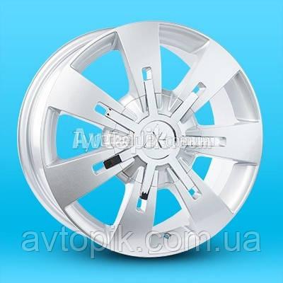 Литые диски Replica Mitsubishi (A-R582) R17 W7.5 PCD6x139.7 ET43 DIA67.1 (silver)