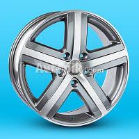 Литые диски Replica Volkswagen (A-R159) R18 W7.5 PCD5x130 ET57 DIA71.6 (MG)