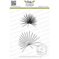 Набор штампов Листья пальмы, 2шт, FL191