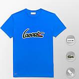 Мужская футболка Lacoste (ориг.бирка) желтый, фото 8