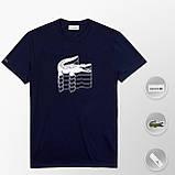 Мужская футболка Lacoste (ориг.бирка) желтый, фото 9