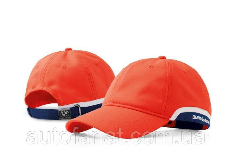 Оригинальная бейсболка BMW Golfsport Cap, Unisex, Fire (80162446377)