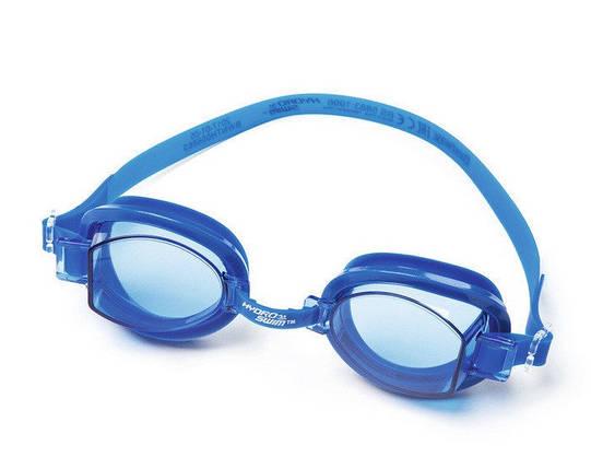 Очки для дайвинга Ocean Wave от 7 лет BestWay 21079 синие розовые серые для плавания детские, фото 2