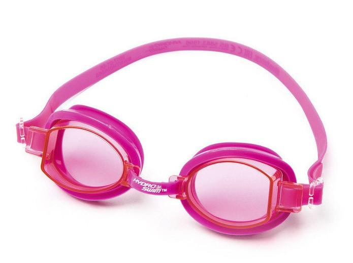 Очки для дайвинга Ocean Wave от 7 лет BestWay 21079 синие розовые серые для плавания детские