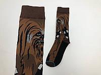 Носки Our Tanks  - высокие - Star Wars - Чубакка (коричневые)