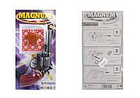 Револьвер Магнум пістони, нагрудний значок, на планш. 31*16,5*3см /36/ (280)