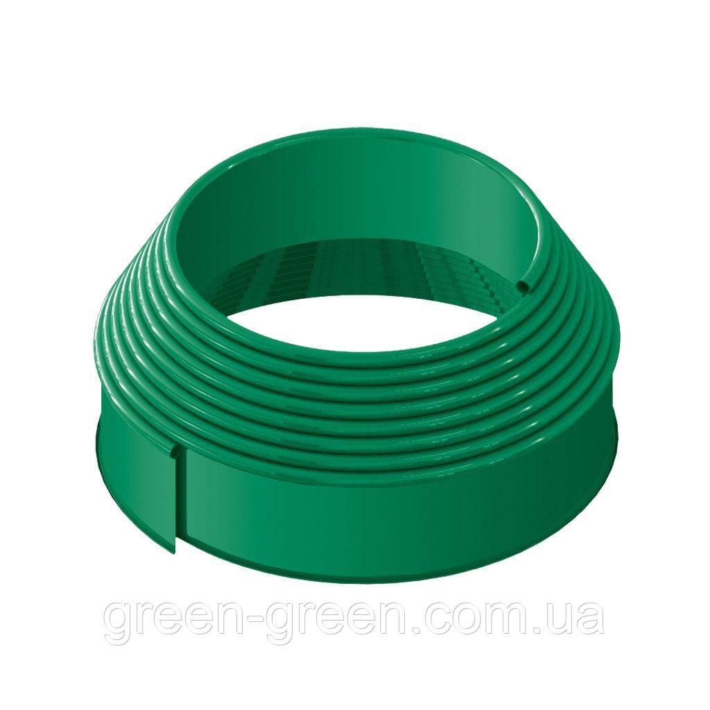 Бордюрна стрічка Кантрі зелена 10м.