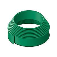 Бордюрная лента Кантри зеленая 10м.