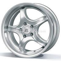 Литые диски RC Design RC-01 R13 W5.5 PCD4x108 ET37 DIA63.4 (KS)